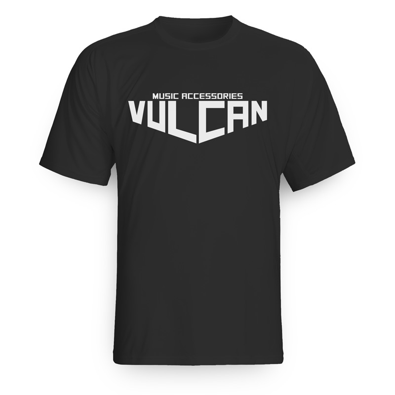 Vulcan Tee Shirt Men's Black